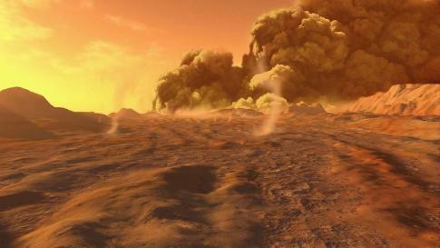 Mars'ın Hava Durumu